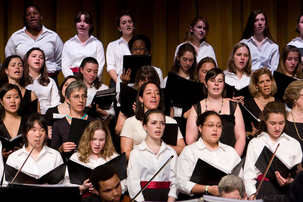 APR 24-26, 2009: The Westover School Founders Weekend. Alumnae-Glee Club performance.  Alumnae and faculty celebrated the school's 100th birthday at the Westover School in Middlebury, Connecticut. ...
