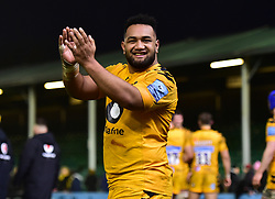Sione Vailanu of Wasps - Mandatory by-line: Alex James/JMP - 25/01/2020 - RUGBY - Sixways Stadium - Worcester, England - Worcester Warriors v Wasps - Gallagher Premiership Rugby