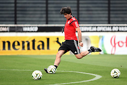 12.07.2014, San Januario Stadium, Rio de Janeiro, BRA, FIFA WM, Deutschland vs Argentinien, Finale, Abschlusstraining, im Bild Bundestrainer Joachim Loew (GER) // German coach Joachim Loew during a practice session of team Germany prior to Final match between Germany and Argentina of the FIFA Worldcup Brazil 2014 at the San Januario Stadium in Rio de Janeiro, Brazil on 2014/07/12. EXPA Pictures © 2014, PhotoCredit: EXPA/ Eibner-Pressefoto/ Cezaro<br /> <br /> *****ATTENTION - OUT of GER*****