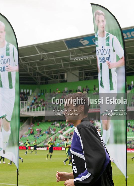 Tim Sparv. FC Groningen - Ajax. Hollannin liiga. Eredivisie. Groningen 8.8.2010. Photo: Jussi Eskola