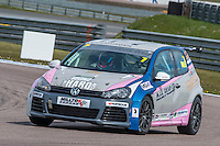 #7 Kenan DOLE  Team Hard Volkswagen Golf Milltek Sport Volkswagen Racing Cup at Rockingham, Corby, Northamptonshire, United Kingdom. April 30 2016. World Copyright Peter Taylor/PSP.