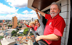 (160316) -- SAO PAULO, March 16, 2016 () -- Image taken on March 5, 2016 shows Brazil's President Dilma Rousseff (C) and Brazilian former President Luiz Inacio Lula da Silva (R) during her visit to Lula da Silva's residence, in Sao Bernardo do Campo, in the outskirts of Sao Paulo, Brazil. Brazilian former President Luiz Inacio Lula da Silva has been named chief of staff for President Dilma Rousseff's cabinet, government officials said on Wednesday. EXPA Pictures © 2016, PhotoCredit: EXPA/ Photoshot/ AGENCIA ESTADO<br /> <br /> *****ATTENTION - for AUT, SLO, CRO, SRB, BIH, MAZ, SUI only*****