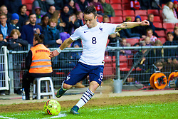 COPENHAGEN, DENMARK - Sunday, October 11, 2015: France's Mathieu Valbuena kicking a corner during the friendly game against Denmark at Parken Stadium. (Pic by Lexie Lin/Propaganda)