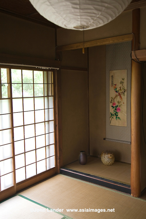 Tokonoma Japanese Alcove   John Lander Photography
