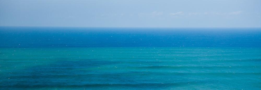 Hawaii Blue Green Impressionist Seascape