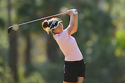 Jennifer Ha during the final round of LPGA Q-School Stage 3 on the Hills Course at LPGA International in Daytona Beach, Florida on Dec. 4, 2016.<br /> <br /> <br /> ©2016 Scott A. Miller