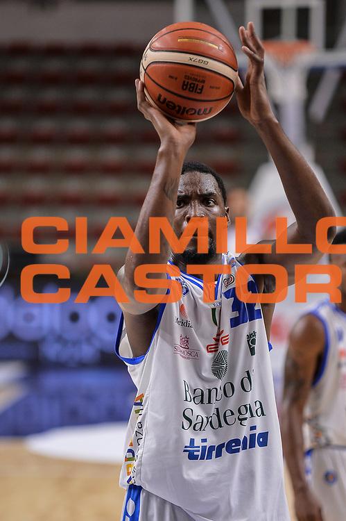 DESCRIZIONE : Torneo Citt&agrave; di Sassari &quot;Mim&igrave; Anselmi&quot; Dinamo Banco di Sardegna Sassari - AEK Atene<br /> GIOCATORE : Jarvis Varnado<br /> CATEGORIA : Tiro Libero<br /> SQUADRA : Dinamo Banco di Sardegna Sassari<br /> EVENTO :  Torneo Citt&agrave; di Sassari &quot;Mim&igrave; Anselmi&quot; <br /> GARA : Dinamo Banco di Sardegna Sassari - AEK Atene Torneo Citt&agrave; di Sassari &quot;Mim&igrave; Anselmi&quot;<br /> DATA : 12/09/2015<br /> SPORT : Pallacanestro <br /> AUTORE : Agenzia Ciamillo-Castoria/L.Canu