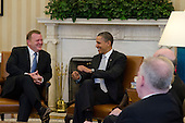 Prime Minister Lars Løkke Rasmussen visit to the White House