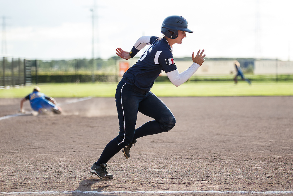 Camille Riera, European Softball Woman Championship 2015.