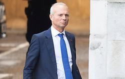 © Licensed to London News Pictures. 04/09/2019. London, UK. MP for Aylesbury David Lidington walks in Parliament ahead of Boris Johnsons first PMQs.  Photo credit: George Cracknell Wright/LNP