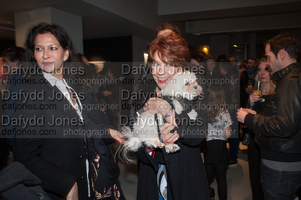ROSEANN BENNET; KATHY LETTE, BILL WYMAN - REWORKED' , Photographs by Bill Wyman and reworks by Gerald Scarfe, Pam Glew, Dale Marshall, Penny and James Mylne, Rook & Raven Gallery: 7-8 Rathbone Place, London. 26 February 2013