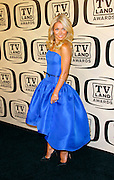 Kelly Ripa attends the 10th Anniversary TV Land Awards at the Lexington Avenue Armory in New York City, New York on April 14, 2012.