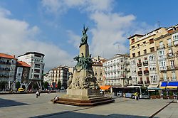 Monument to the Battle of Vitoria, in Vitoria Gasteiz, Spain<br /> <br /> (c) Andrew Wilson | Edinburgh Elite media