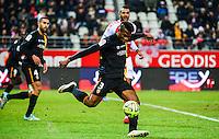 Dimitri CAVARE - 25.01.2015 - Reims / Lens  - 22eme journee de Ligue1<br /> Photo : Dave Winter / Icon Sport *** Local Caption ***
