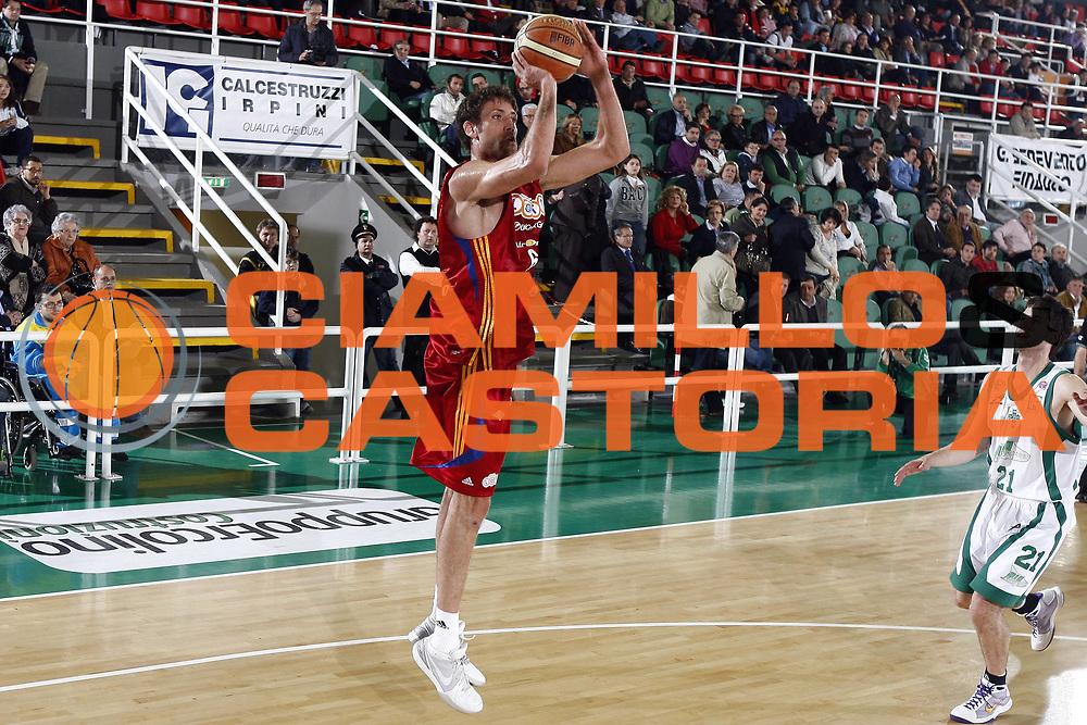 DESCRIZIONE : Avellino Lega A 2008-09 Air Avellino Lottomatica Virtus Roma<br /> GIOCATORE : Angelo Gigli<br /> SQUADRA : Lottomatica Virtus Roma<br /> EVENTO : Campionato Lega A 2008-2009 <br /> GARA : Air Avellino Lottomatica Virtus Roma<br /> DATA : 07/05/2009<br /> CATEGORIA : tiro<br /> SPORT : Pallacanestro <br /> AUTORE : Agenzia Ciamillo-Castoria/E.Castoria