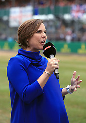 Deputy team principal of Williams racing Claire Williams during Paddock Day of the 2017 British Grand Prix at Silverstone Circuit, Towcester.