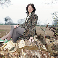 Rafaella Barker, Author and writer at her home in Norfolk. February 2012.<br /> <br /> Picture by Alban Donohue/Albanpix/Writer Pictures<br /> <br /> WORLD RIGHTS
