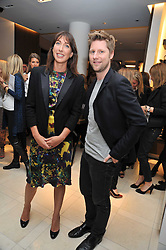 SAMANTHA CAMERON and CHRISTOPHER BAILEY at a reception hosted by Vogue and Burberry to celebrate the launch of Fashions Night Out - held at Burberry, 21-23 Bond Street, London on 10th September 2009.