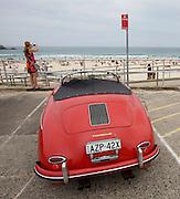 Bondi Beach. Porsche 356 cabriolet.