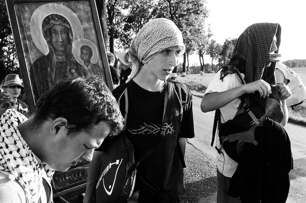 Hippie Pilgrimage to Czestochowa, 2014.