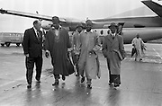 11/09/1961<br /> 09/11/1961 <br /> 11 September 1961<br /> Nigeria Airways Group visit Dublin, special for Aer Lingus.