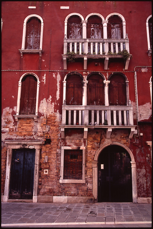 Facade of Building, Venice, Italy