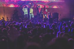 Plavi Orkesat performing during Castle Kolpa Music Festival on 4nd August, in Kastel, Slovenia. Photo by Grega Valancic / Sportida