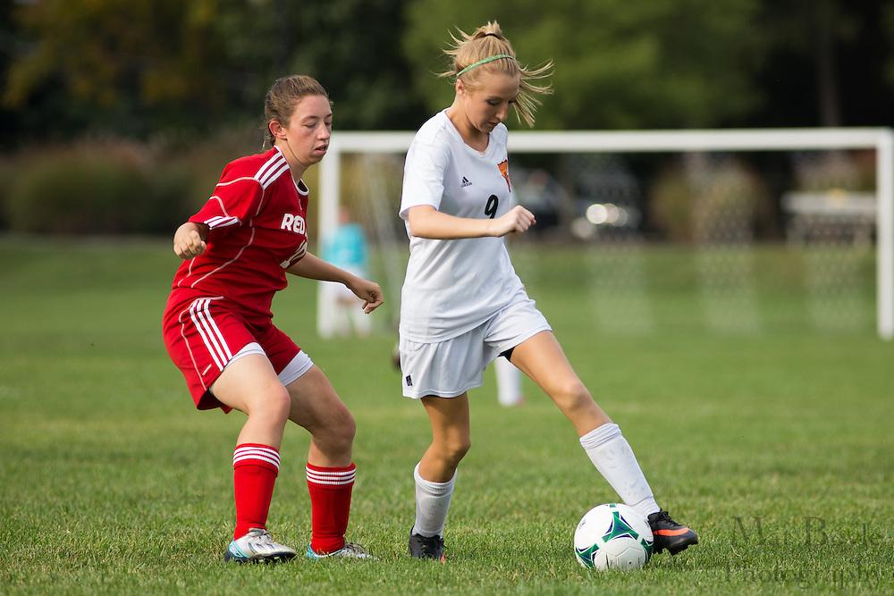 Pitman Girls Soccer vs Penns Grove High School  at Alcyon Park in Pitman, NJ on Thursday October 3, 2013. (photo / Mat Boyle)