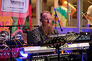 Heart n Soul presents The Beautiful Octopus Club, South Bank Centre, London, UK (9 September 2016). Heart n Soul is an award-winning creative arts company. Pictured, Rex Horan during the debut performance of his new band Team Trabant © Rudolf Abraham