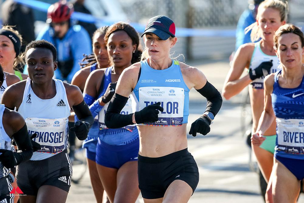 Kellyn Taylor, HOKA<br /> TCS New York City Marathon 2019