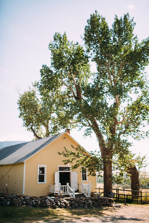 A beautiful rustic wedding at Spring Hill Pavilion, in Bozeman Montana.  Event planner, Katalin Green