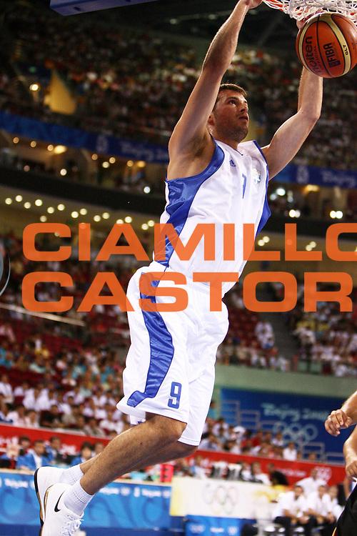 DESCRIZIONE : Beijing Pechino Olympic Games Olimpiadi 2008 Greece Germany <br /> GIOCATORE : Antonis Fotsis <br /> SQUADRA : Greece Grecia <br /> EVENTO : Olympic Games Olimpiadi 2008 <br /> GARA : Grecia Germania Greece Germany <br /> DATA : 12/08/2008 <br /> CATEGORIA : Schiacciata <br /> SPORT : Pallacanestro <br /> AUTORE : Agenzia Ciamillo-Castoria/E.Castoria <br /> Galleria : Beijing Pechino Olympic Games Olimpiadi 2008 <br /> Fotonotizia : Beijing Pechino Olympic Games Olimpiadi 2008 Greece Germany <br /> Predefinita :