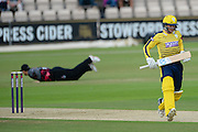 Jake Goodwin of Hampshire during the NatWest T20 Blast South Group match between Hampshire County Cricket Club and Somerset County Cricket Club at the Ageas Bowl, Southampton, United Kingdom on 29 July 2016. Photo by David Vokes.