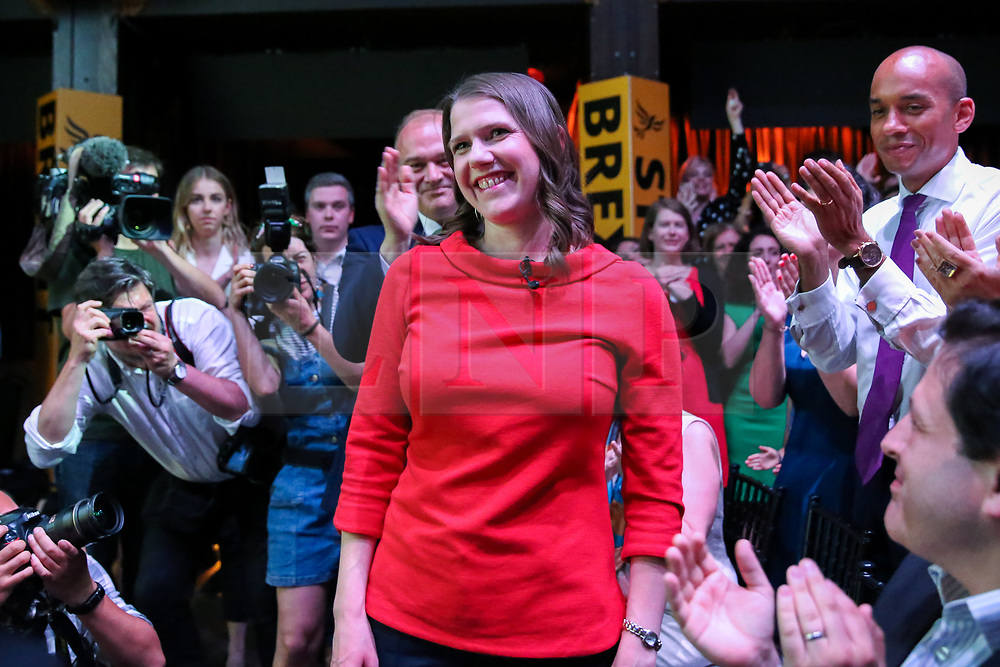 © Licensed to London News Pictures. 22/07/2019. London, UK. JO SWINSON is elected as the new leader of the Liberal Democrats. JO SWINSON, MP for East Dunbartonshire,won the leadership election receiving47,997 votes. Photo credit: Dinendra Haria/LNP
