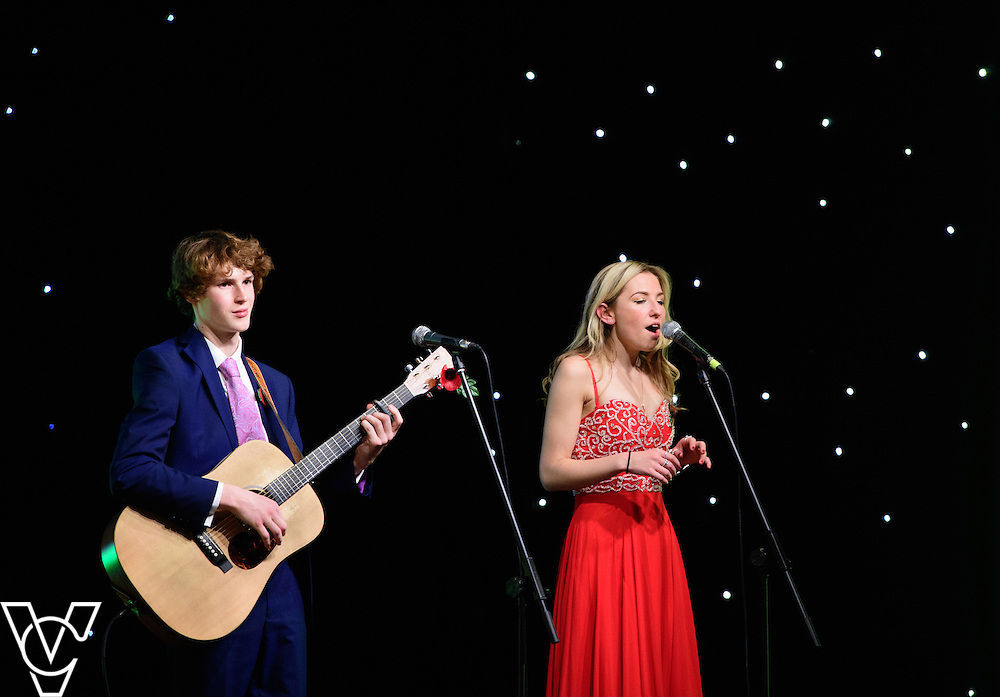 Lincolnshire Sport Awards 2016:<br /> <br /> Molly and Will perform at the Lincolnshire Sport Awards 2016<br /> <br /> The 2016 Lincolnshire Sport Awards, organised by Lincolnshire Sport, and held at the Showground, Lincoln.<br /> <br /> Picture: Chris Vaughan Photography for Lincolnshire Sport<br /> Date: November 3, 2016