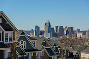 View from Fort Thomas, KY of the Cincinnati skyline.