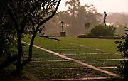 Sri Lanka. Lunuganga. The country home and garden of architect Geoffrey Bawa.