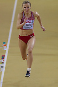 Lauma Griva (Latvia), Long Jump, during the European Athletics Indoor Championships 2019 at Emirates Arena, Glasgow, United Kingdom on 1 March 2019.