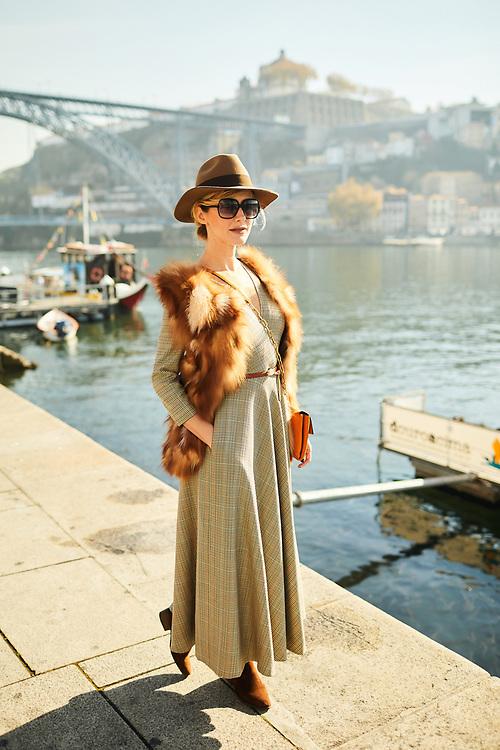 Porto, Portugal.<br /> Dress: La Blanche Couture