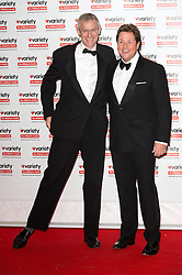 © Licensed to London News Pictures. 18/10/2016. JEREMY VINE and MICHAEL BALL attend the Variety Showbiz Awards at the Hilton Park Lane Hotel. London, UK. Photo credit: Ray Tang/LNP