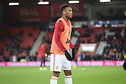 Anthony Martial of Manchester United before the Barclays Premier League match between Bournemouth and Manchester United at the Goldsands Stadium, Bournemouth, England on 12 December 2015. Photo by Phil Duncan.