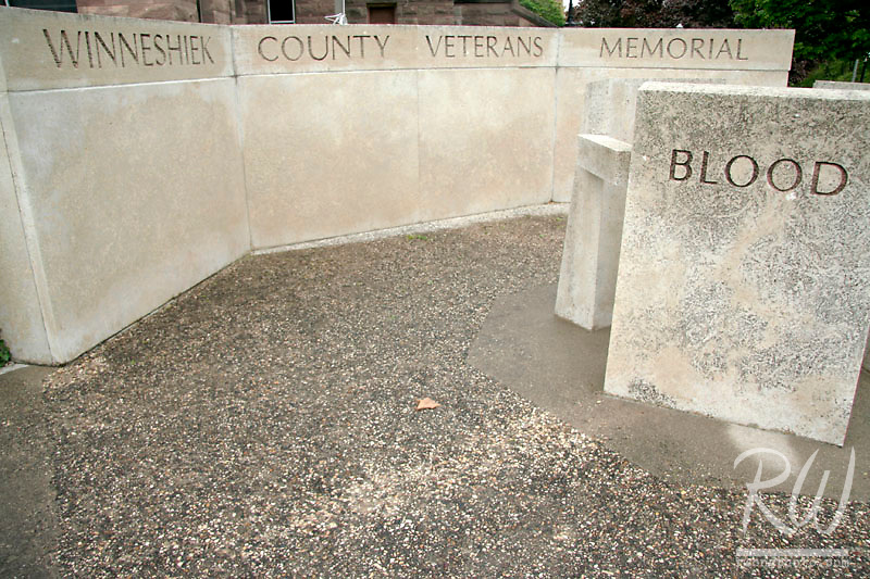 Winneshiek County Veterans Memorial, Decorah, Iowa