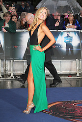 © Licensed to London News Pictures. 12/06/2013. London, UK. Kimberley Garner;  Man of Steel European Film Premiere, Leicester Square London UK, 12 June 2013. Photo credit : Richard Goldschmidt/Piqtured/LNP