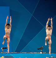 3 m. synchro springboard.Diving finals.London 2012 Olympics - Olimpiadi Londra 2012.day 06 August 1.Photo G.Scala/Deepbluemedia.eu/Insidefoto