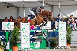 Moerings Geert, (NED), Fiss<br /> Finale 5 jarige springpaarden <br /> KWPN Paardendagen Ermelo 2015<br /> © Hippo Foto - Leanjo de Koster