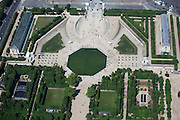 Overlooking one of the main fountains in the Tuileries Gardens; the Bassin Octogonal, before the Champs-Elysees begins.