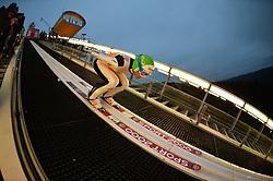 21.11.2014, Vogtland Arena, Klingenthal, GER, FIS Weltcup Ski Sprung, Klingenthal, Herren, HS 140, Qualifikation, im Bild Jernej Damjan (SLO) // during the mens HS 140 qualification of FIS Ski jumping World Cup at the Vogtland Arena in Klingenthal, Germany on 2014/11/21. EXPA Pictures © 2014, PhotoCredit: EXPA/ Eibner-Pressefoto/ Harzer<br /> <br /> *****ATTENTION - OUT of GER*****