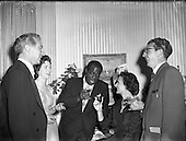 1956 – 19/05 Lady Goulding Hosts Party for Louis Armstrong.