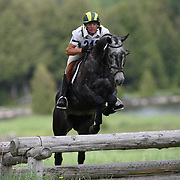 Karl Slezak at the 2007 Checkmate May Horse Trials in Feversham, Ontario.