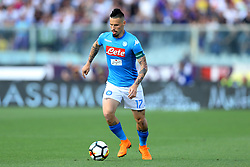 April 29, 2018 - Florence, Italy - Marek Hamsik of Napoli during the Serie A match between ACF Fiorentina and SSC Napoli at Stadio Artemio Franchi on April 29, 2018 in Florence, Italy. (Credit Image: © Matteo Ciambelli/NurPhoto via ZUMA Press)